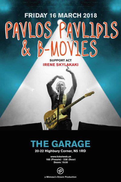 Pavlidis at The Garage London 2018 Mimosas Dream Productions (20)