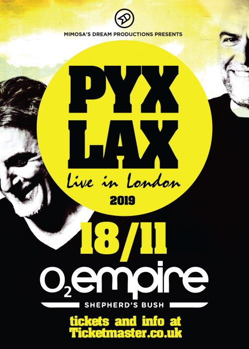 PYX LAX LIVE IN LONDON 50 X 70
